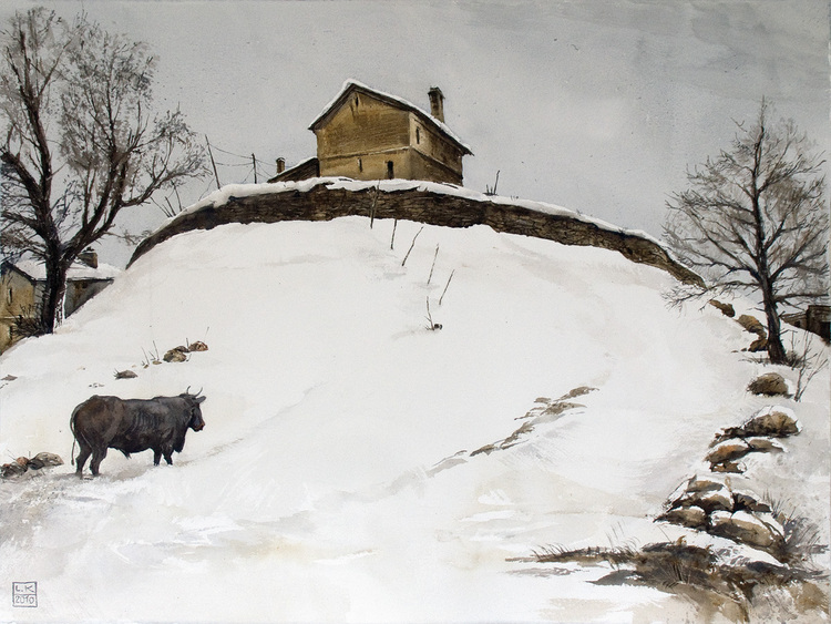 Зимняя пасторалль