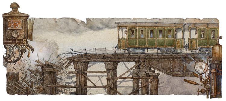 иллюстрация к Жюлю Верну