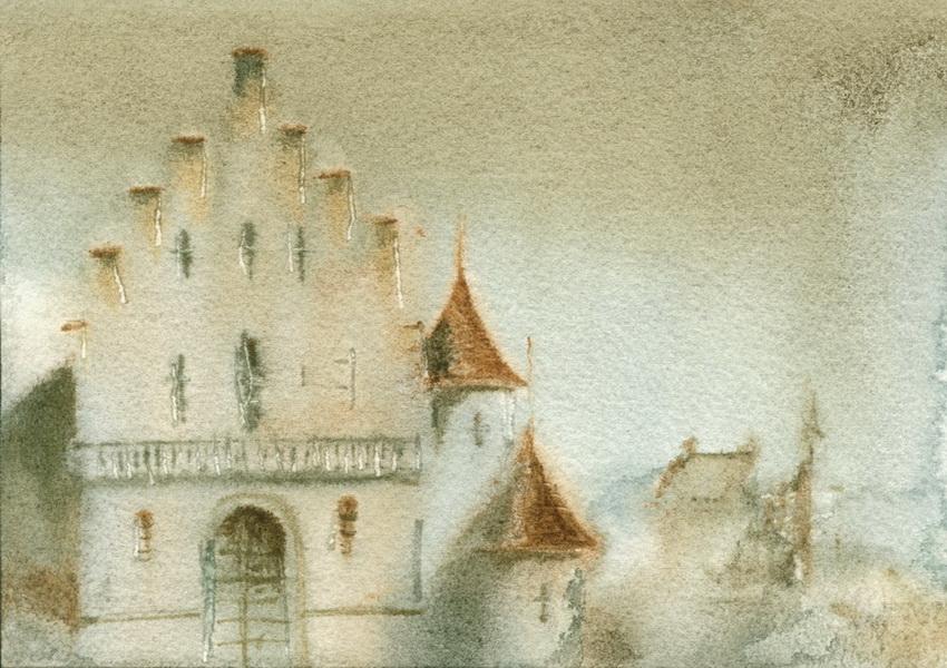 Фантазия на тему замка Лихтенштайна