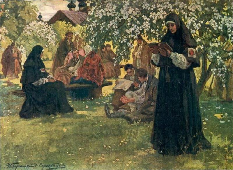 В старообрядческом монастыре
