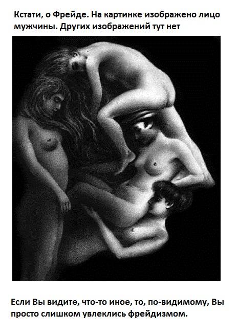 Двойственные изображения-Зрительные иллюзии27