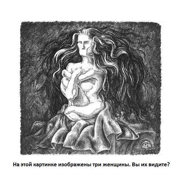 Двойственные изображения-Зрительные иллюзии23