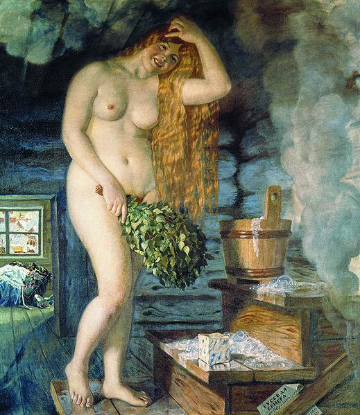 Б.М.Кустодиев.Русская-Венера.1925-1926г