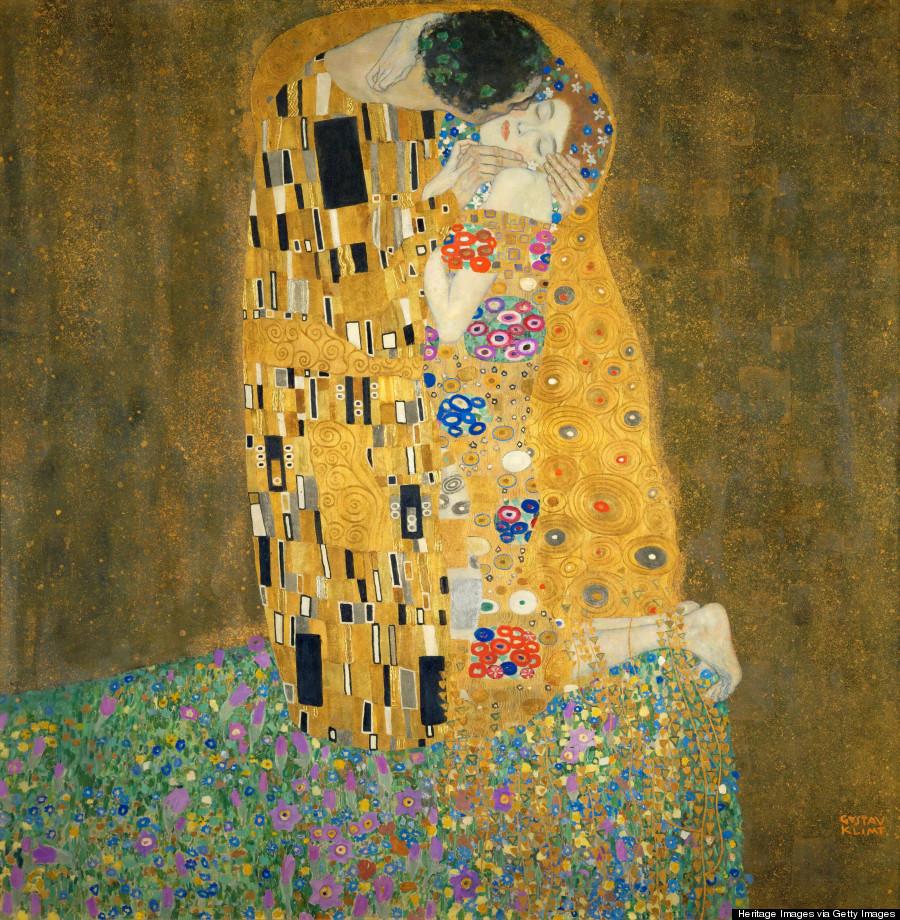 The Kiss, 1907-1908. Artist: Klimt, Gustav (1862-1918)