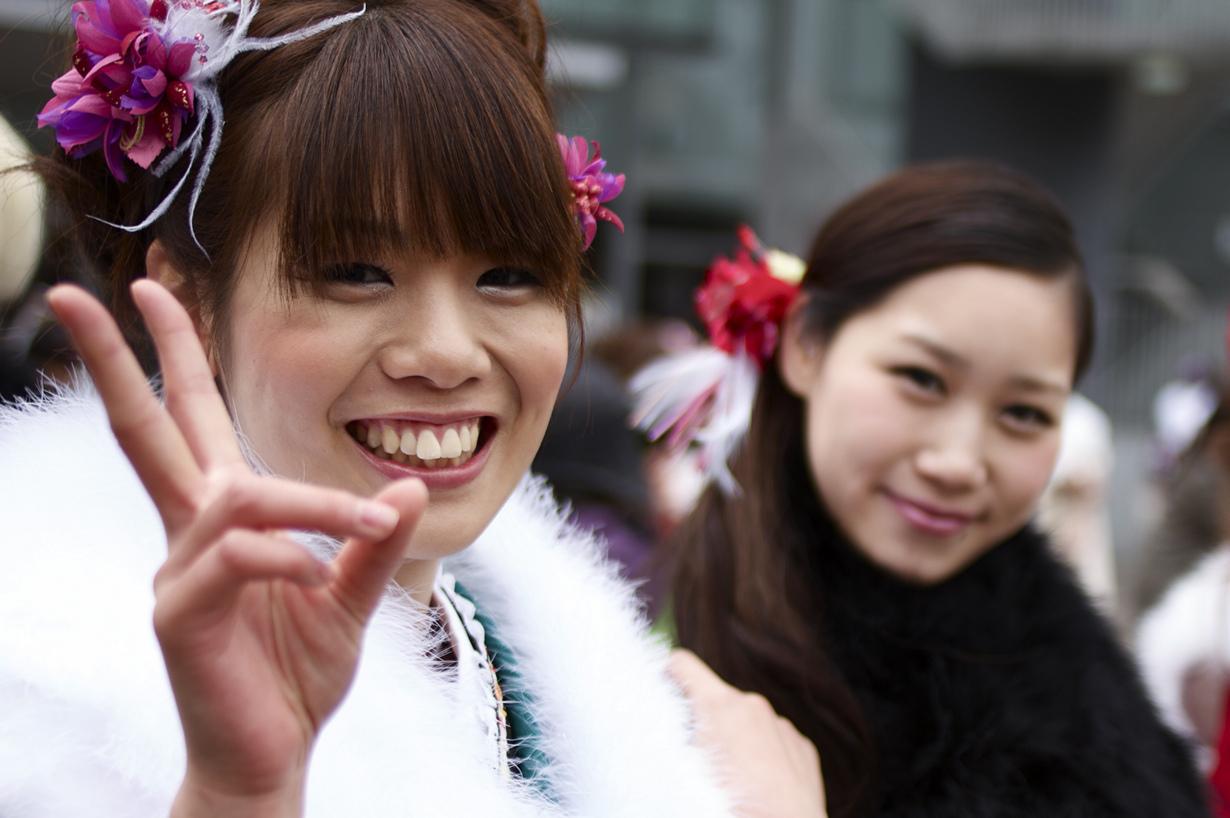 2010 成人の日(Seijin No Hi) Coming of Age Day: Pre-Ceremony - 05
