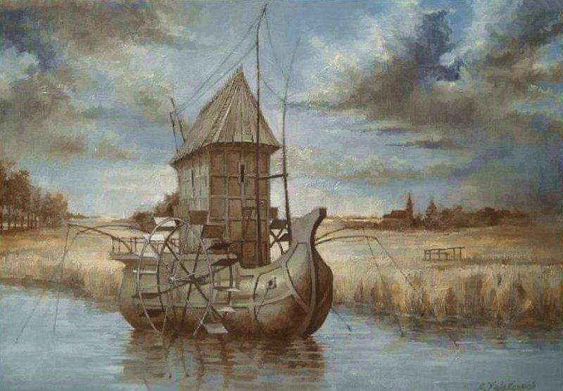 Anton Yakutovych - Ukrainian Fantastic Realism painter - Tutt'Art@ (31)