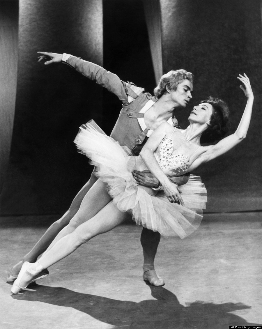 Russian ballet dancer Rudolf Nureyev dances 10 Jan
