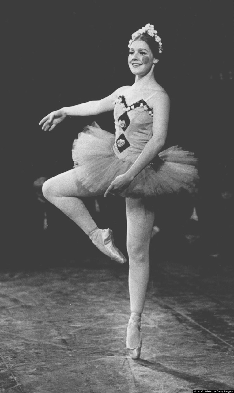 NOV 1971, DEC 28 1971; Corinne as Ballerina Doll in Nutcracker production;