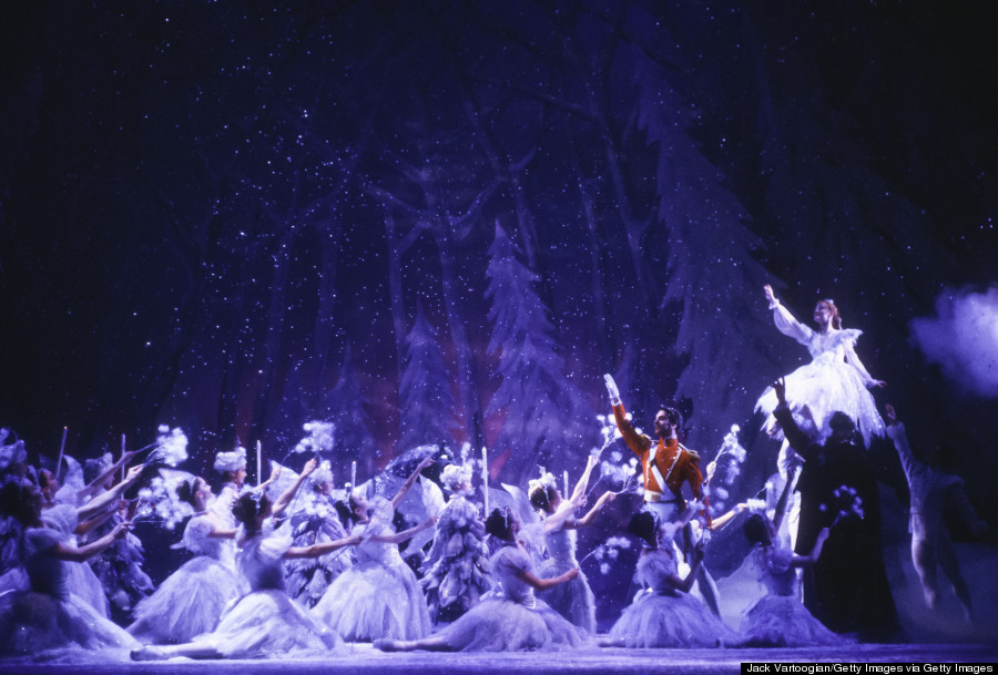 Joffrey Ballet Performs 'The Nutcracker'