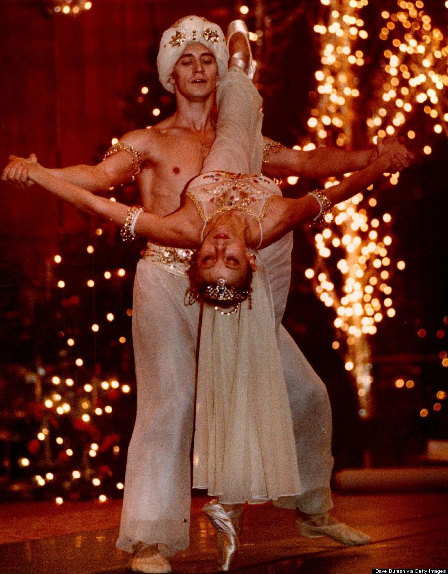 12-3-1992; Igor Vassin and Inessa Pakri perform at the Brown Palace as the Nutcracker. The Hotel and