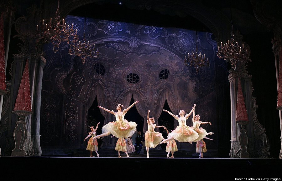 Boston Ballet's Nutcracker Reherses At The Opera House