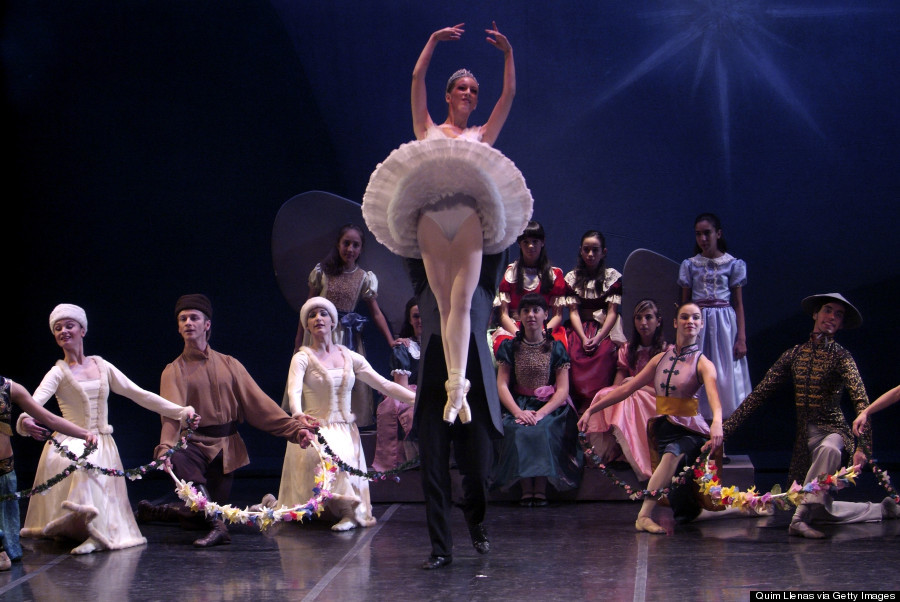 December 19, 2007. Madrid Theater, Madrid, Spain. Dress rehearsal of the ballet 'Nutcracker', a choreographic adaptation of Maria Gimenez on the original of Marius Petipa, directed by Maria Gimenez and produced by Arte 369.