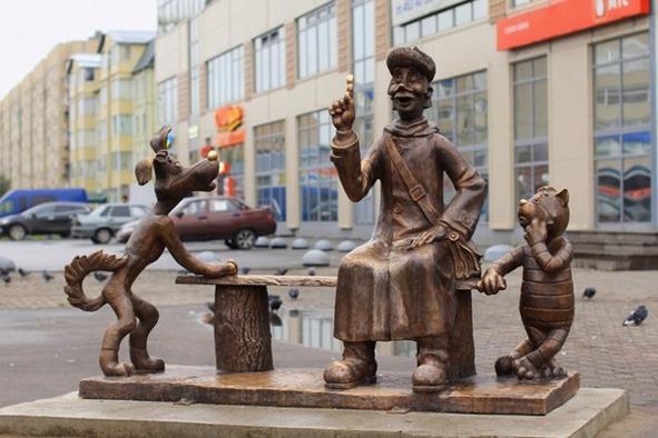 Санкт-Петербург. Кот Матроскин из Колпино.