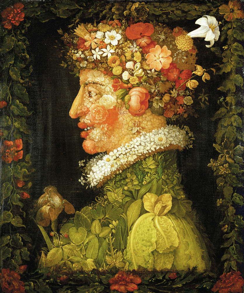 Spring, allegory, 1573. Oil on canvas, 76 x 63,5 cm. R.F. 1964-30.