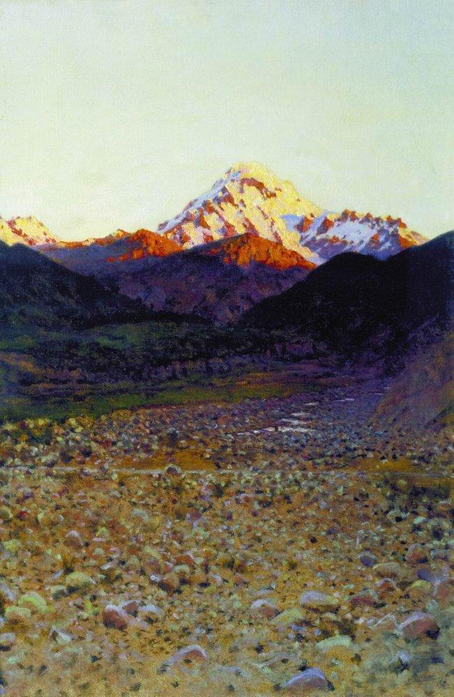 В горах. 1890-е