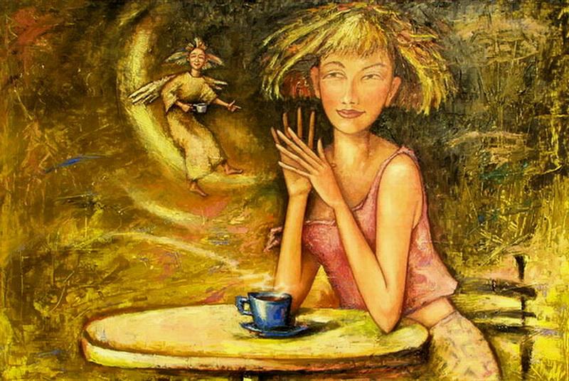 Чайный ангел