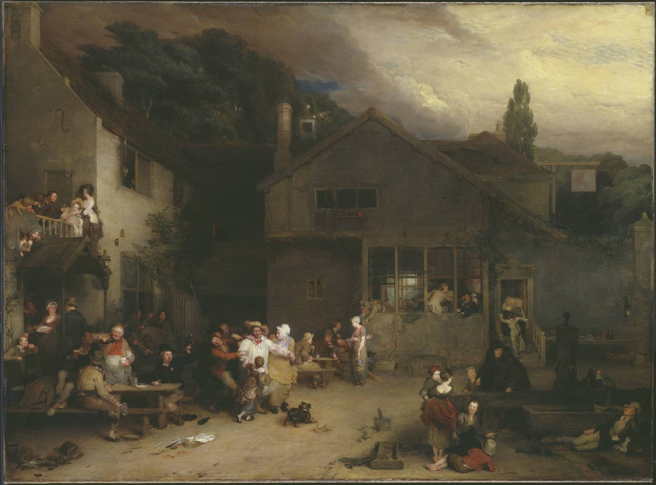 The Village Holiday 1809-11 by Sir David Wilkie 1785-1841