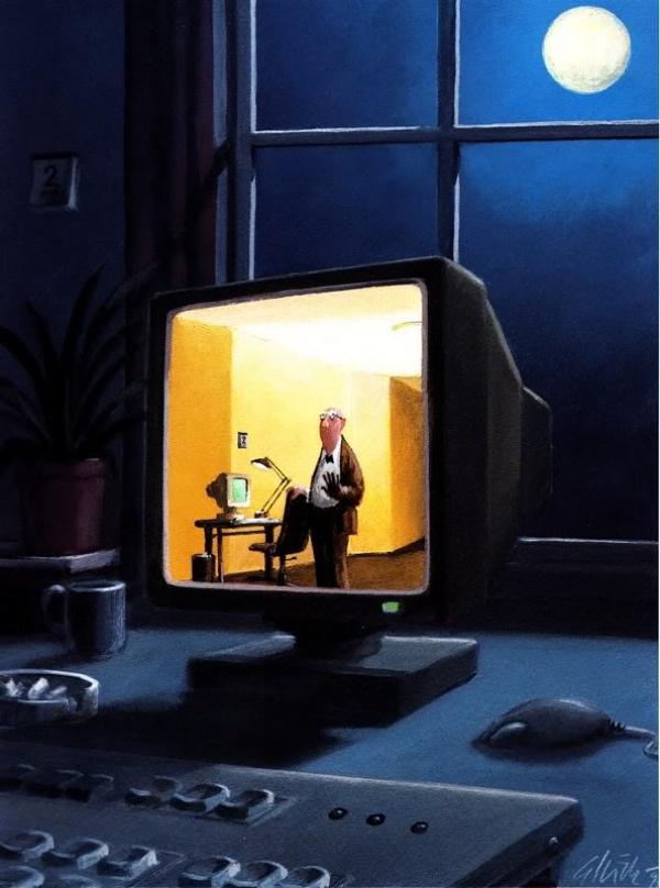 есть ли жизнь с другой стороны экрана