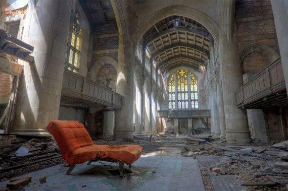 Церковь. Гэри, штат Индиана, США