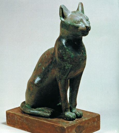 Animals 4 Bronze cat