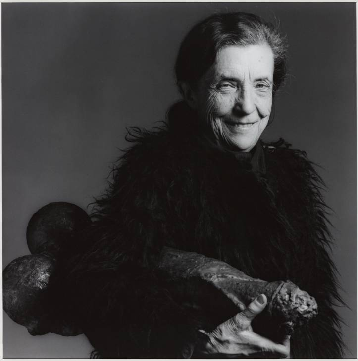 Louise Bourgeois 1982, printed 1991 by Robert Mapplethorpe 1946-1989