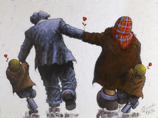 Alexander Millar 1960 - Scottish painter - Tutt'Art@ (12)