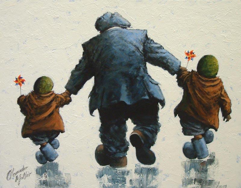 Alexander Millar 1960 - Scottish painter - Tutt'Art@ (27)