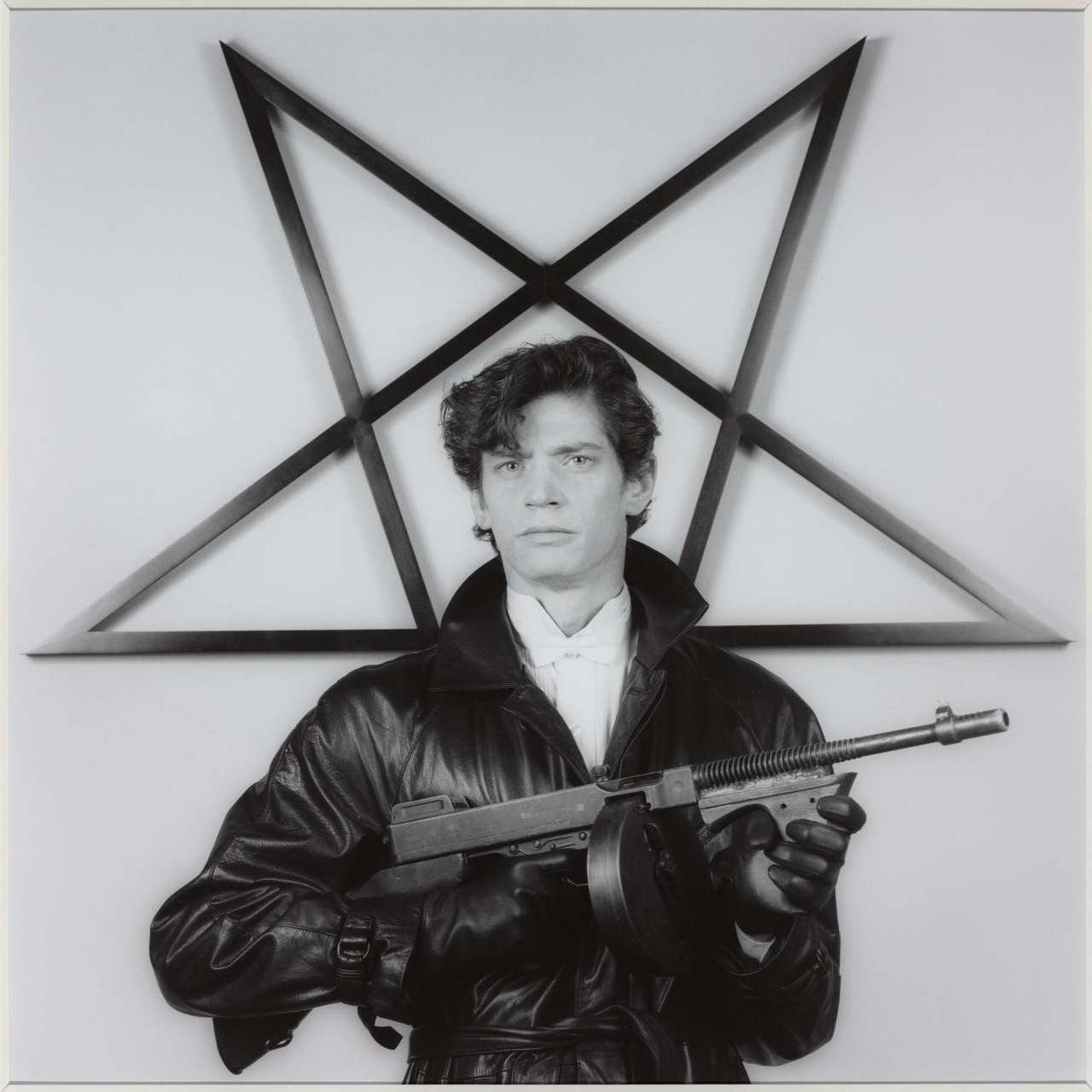 Self Portrait 1983 by Robert Mapplethorpe 1946-1989