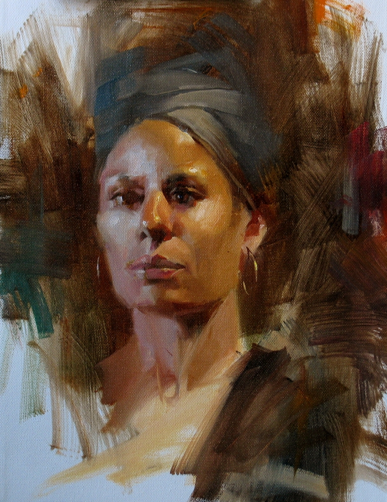 AAU portrait painting 6