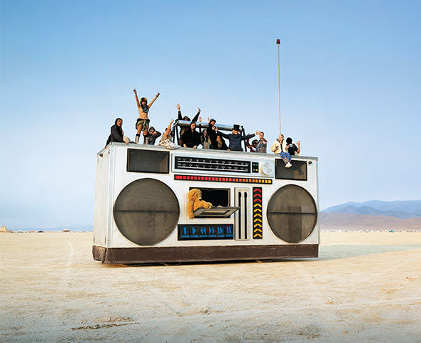 The Rock Box by Derek Wunder, was the portable party of choice in 2008