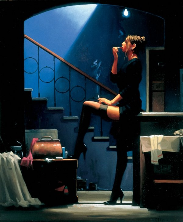 Jack Vettriano Dancer For Money