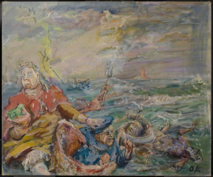 Loreley 1941-2 by Oskar Kokoschka 1886-1980