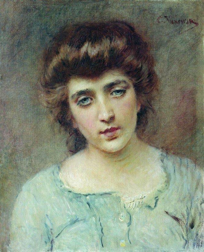 Женский портрет (3)