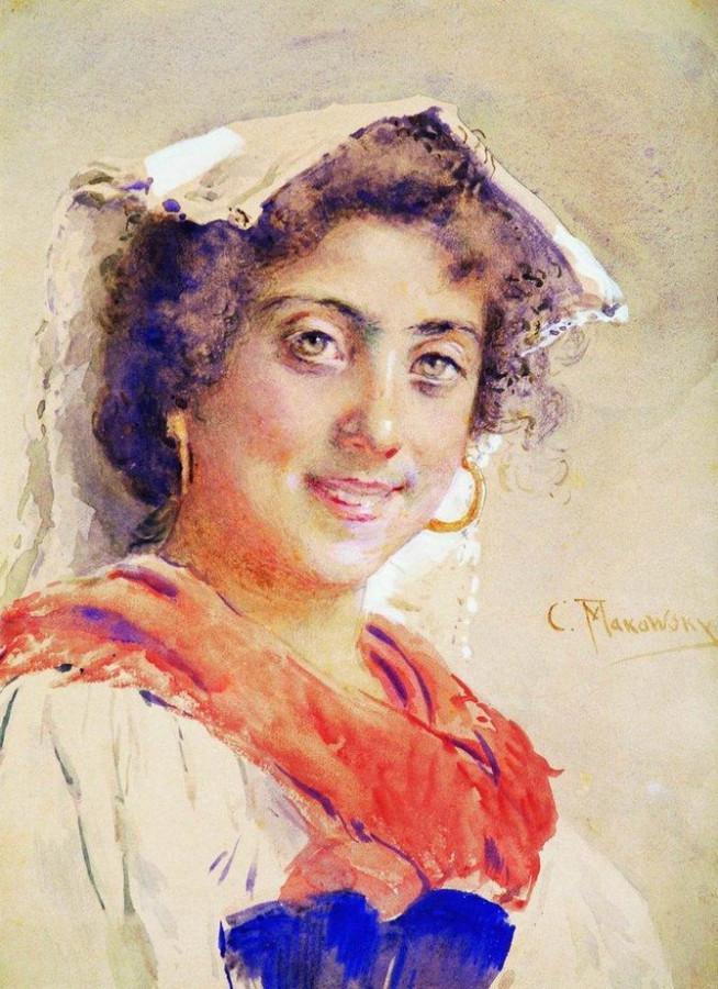 Итальянка. 1890-е