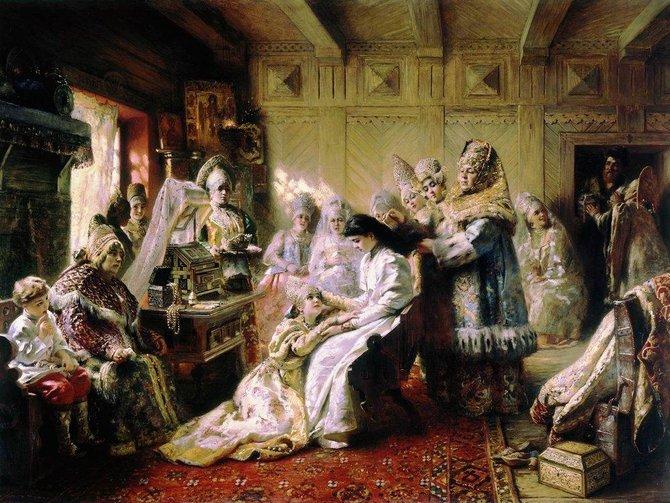Под венец. 1884