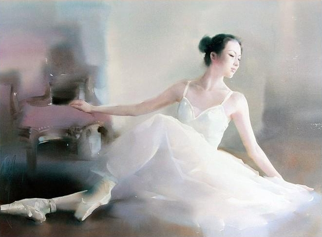 Liu Yi 1958 - Chinese Watercolour painter - Tutt'Art@ (9)