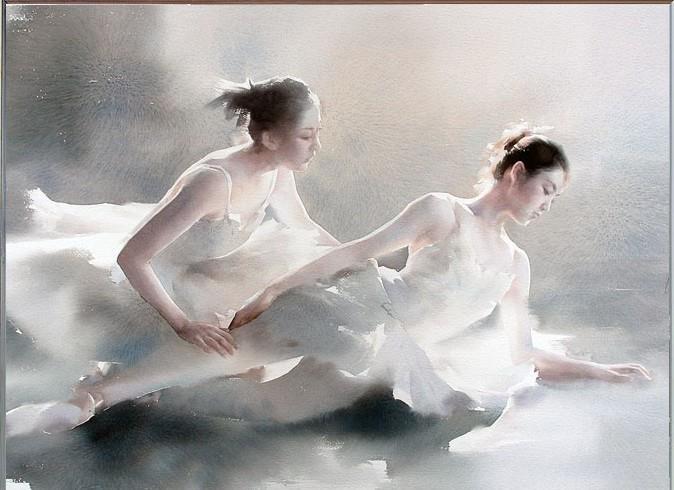 Liu Yi 1958 - Chinese Watercolour painter - Tutt'Art@ (20)