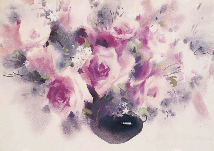 Liu Yi 1958 - Chinese Watercolour painter - Tutt'Art@ (23)