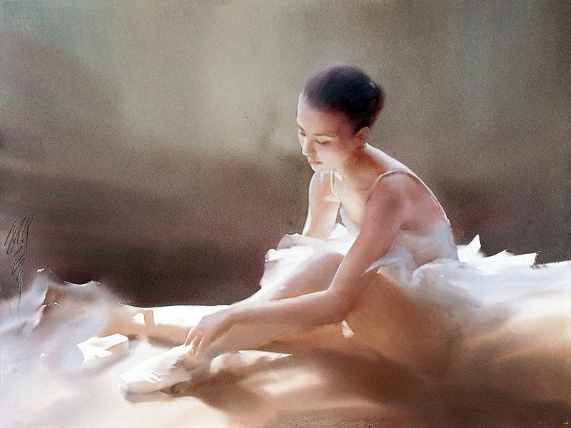 Liu Yi 1958 - Chinese Watercolour painter - Tutt'Art@ (43)