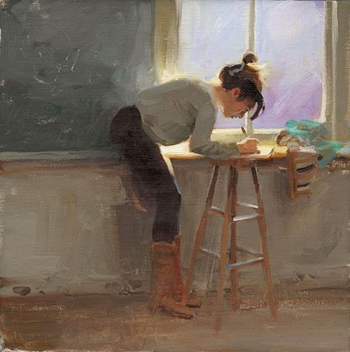 Kim English 1957 - American Plein-Air painter - Tutt'Art@ (4)