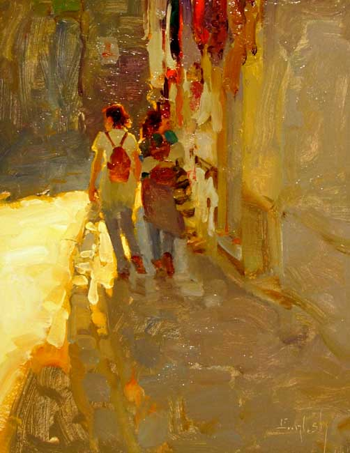 Kim English 1957 - American Plein-Air painter - Tutt'Art@ (5)