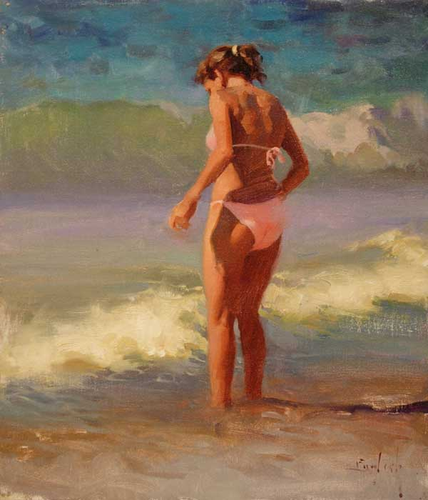 Kim English 1957 - American Plein-Air painter - Tutt'Art@ (6)