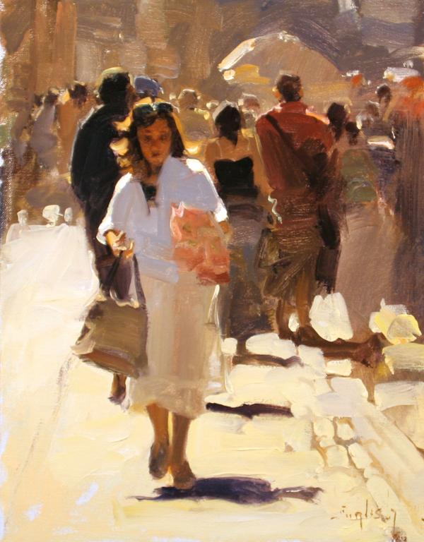 Kim English 1957 - American Plein-Air painter - Tutt'Art@ (7)