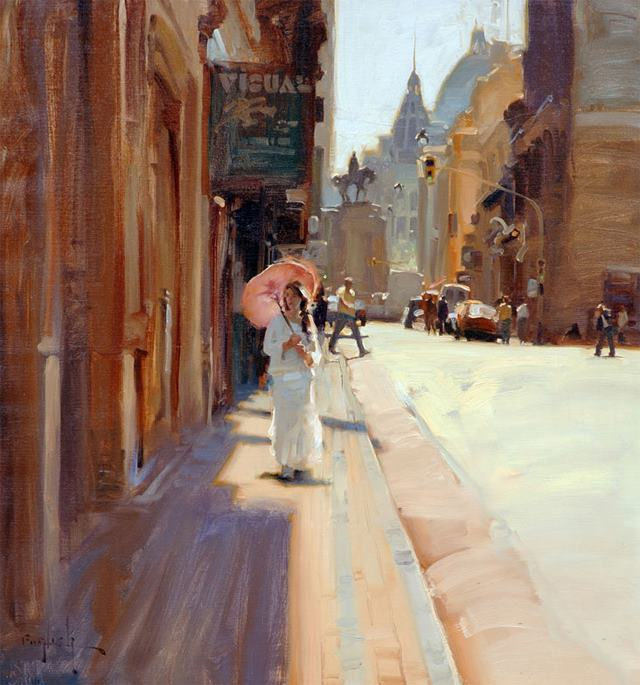 Kim English 1957 - American Plein-Air painter - Tutt'Art@ (13)