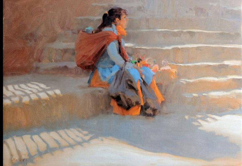 Kim English 1957 - American Plein-Air painter - Tutt'Art@ (26)