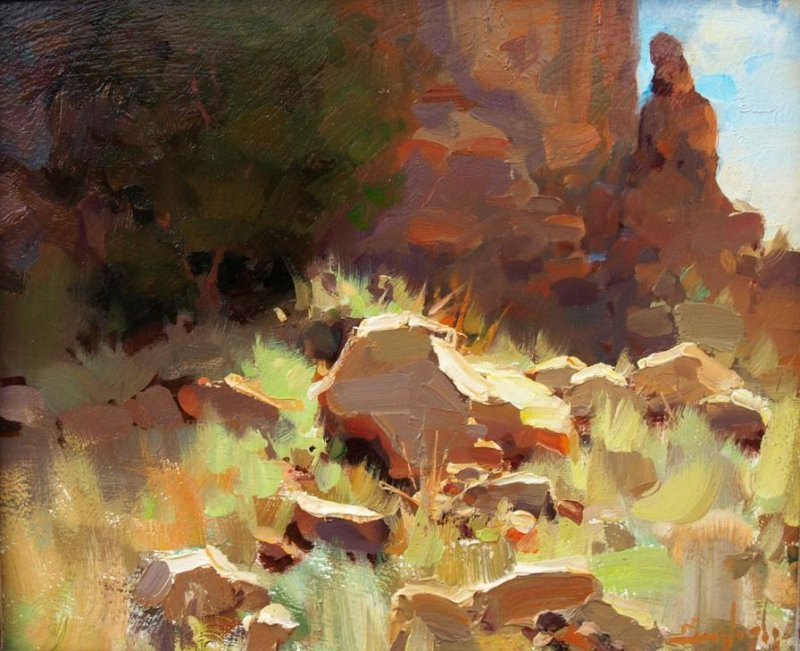 Kim English 1957 - American Plein-Air painter - Tutt'Art@ (28)