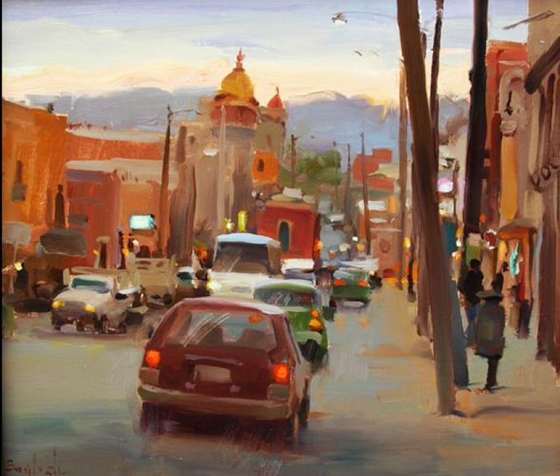 Kim English 1957 - American Plein-Air painter - Tutt'Art@ (29)