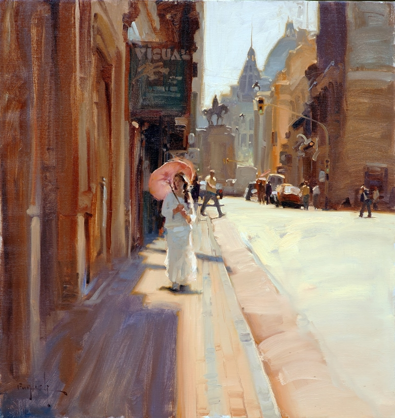 Kim English 1957 - American Plein-Air painter - Tutt'Art@ (31)