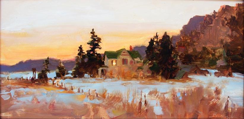 Kim English 1957 - American Plein-Air painter - Tutt'Art@ (34)
