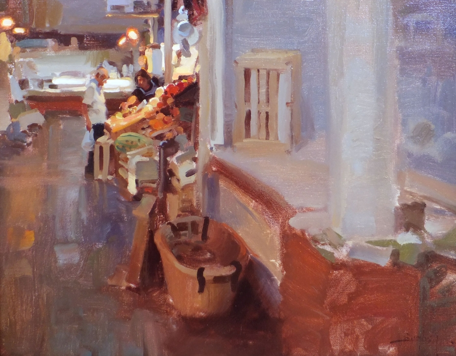 Kim English 1957 - American Plein-Air painter - Tutt'Art@ (37)